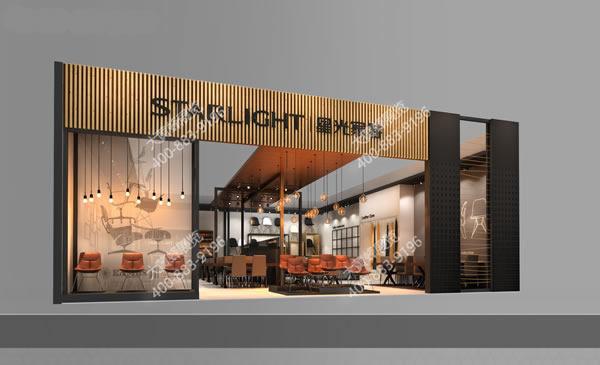 首页 大黄蜂产品中心 展览设计类型 家具展厅效果图 星光家具-展会
