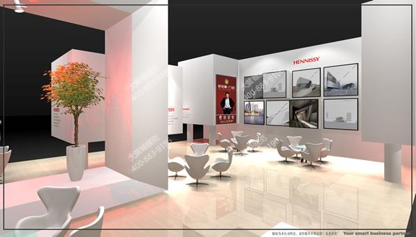 首页 大黄蜂资讯中心 建材展厅设计案例 展厅设计搭建-轩尼斯  客户图片