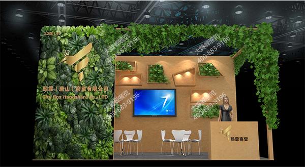 2017最新展会设计效果图-展会设计搭建案例「大黄蜂