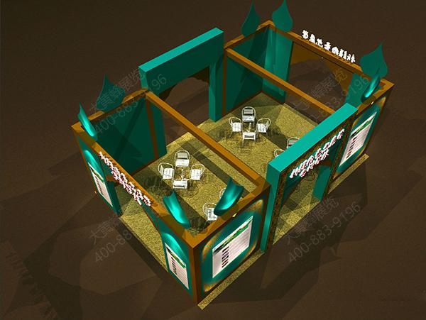 广州展览设计-广州展会搭建  客户名称:新疆维吾尔医学专科学校 展会