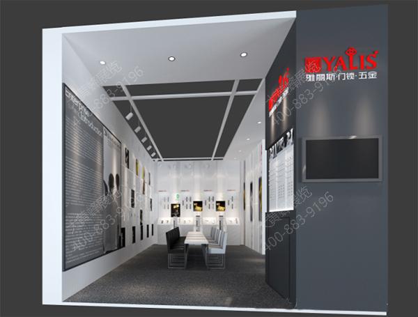 展台设计方案 展台效果图 展台设计与制作 展台搭建与设计 大黄蜂展览图片