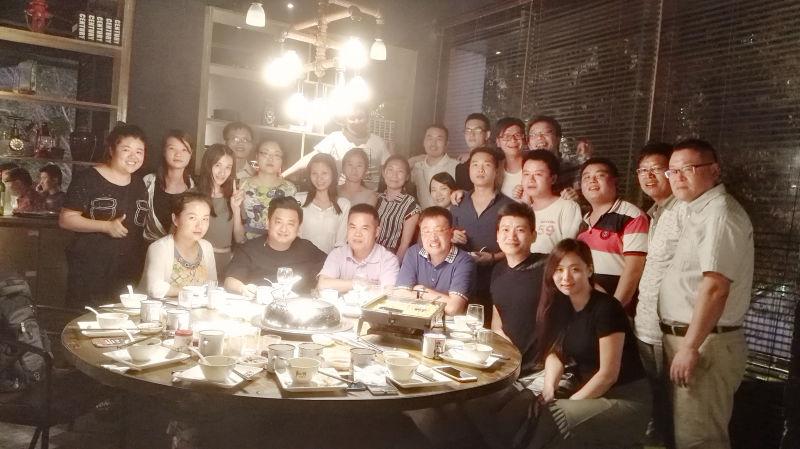 大黄蜂国庆聚餐照-2015