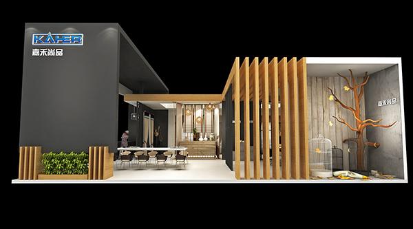 窗帘展厅设计-布艺展厅设计-嘉禾