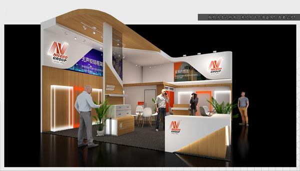 展览展厅设计-展会布展设计-火炽进口