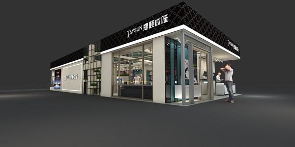建材展厅设计_捷顺成隆