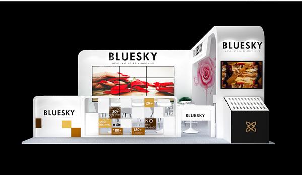 美博会展台设计_BLUESKY