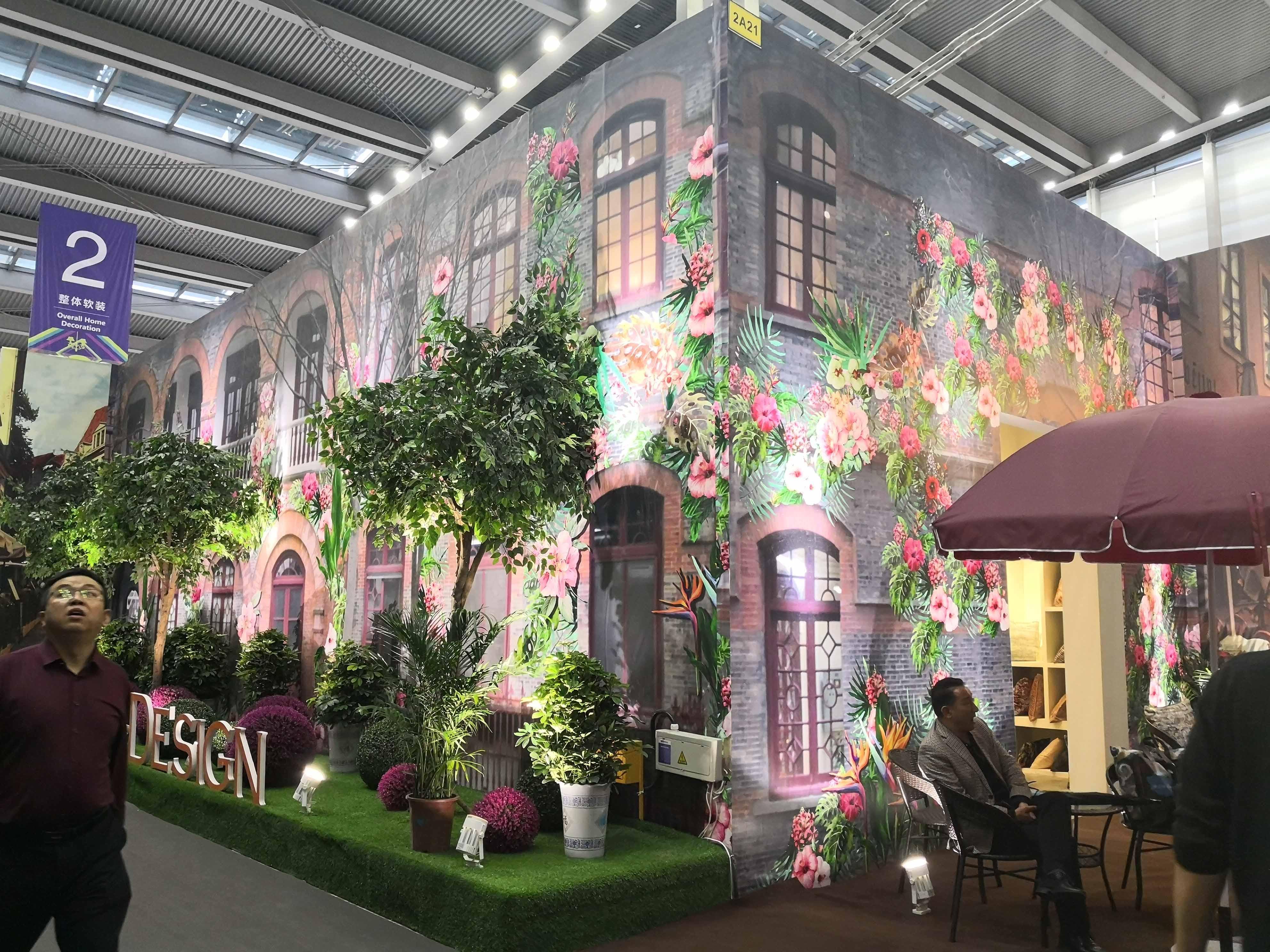 深圳家纺展展厅设计_美梅德