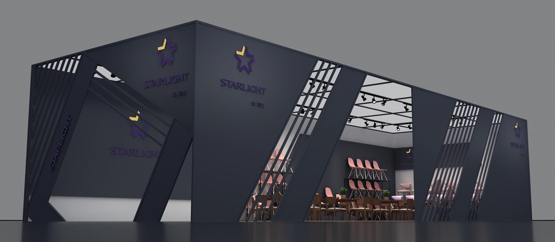 家具展台设计-星光