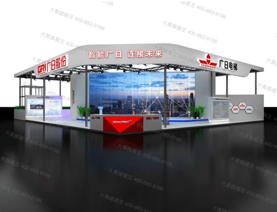 走进2020中国国际电梯展览会展会布置-大黄蜂展览