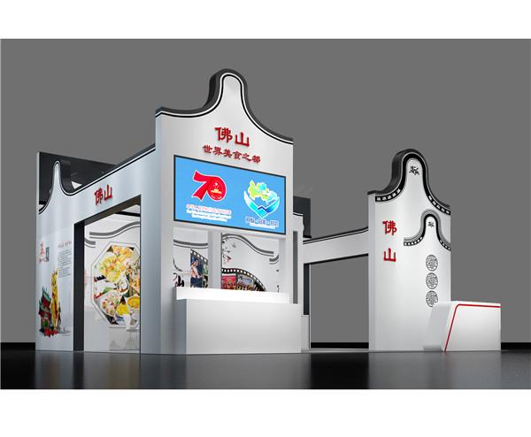 三种类型的展览展示设计