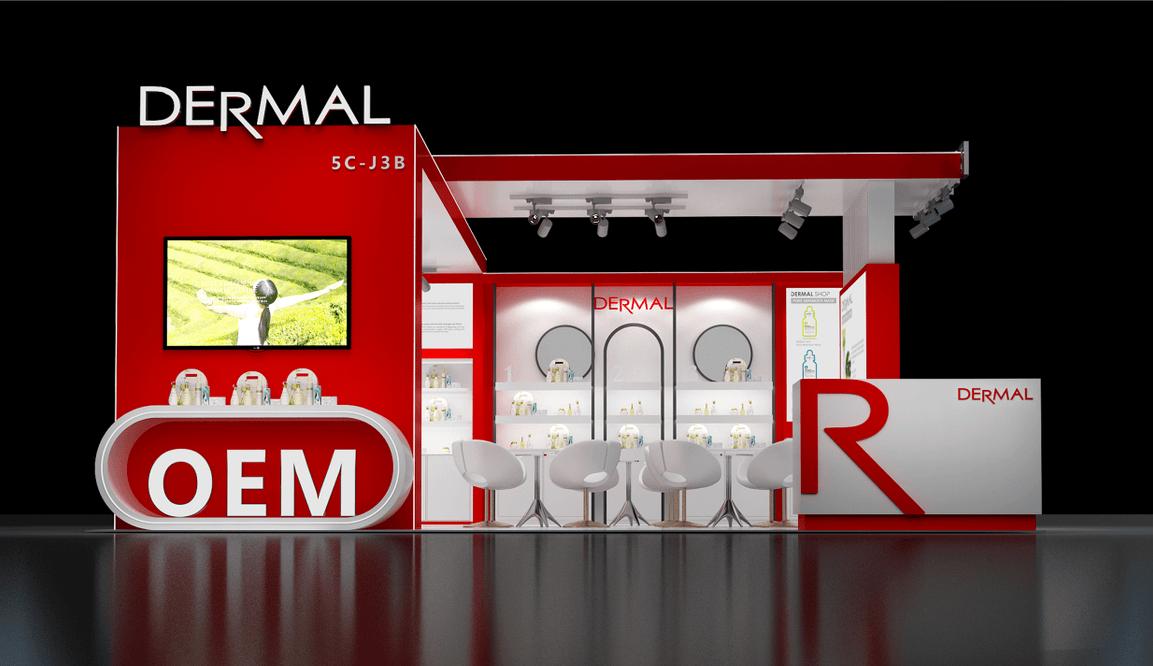 展览设计公司带你了解展台搭建中的发光字材质
