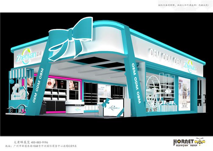 美博会展台设计怎样能更吸引客商们?