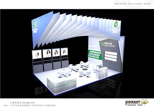 广州展览设计公司浅析如何增加展台的空间感