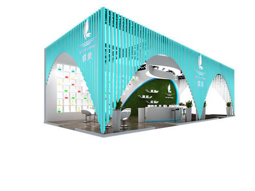 展台设计搭建-蝶泉