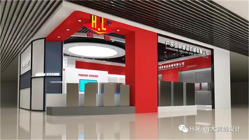 大黄蜂展览汉口北酒店用品城展厅设计案例分享