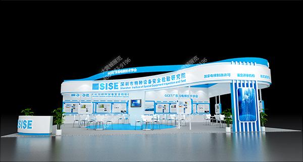 特种安全设备-上海电梯展,上海展览设计,展厅设计装修