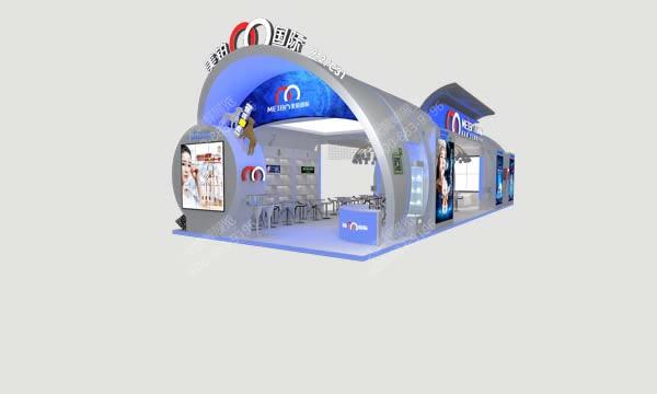 美博国际-美容展厅设计