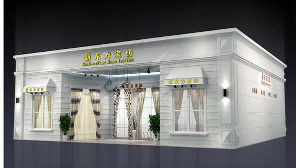 家纺展厅布置_新东方