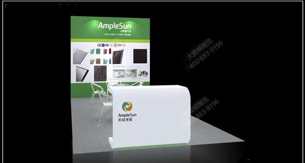 杭州天裕光能-展厅布置