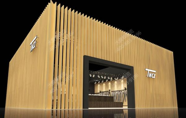 晖创纺织-创意展台设计