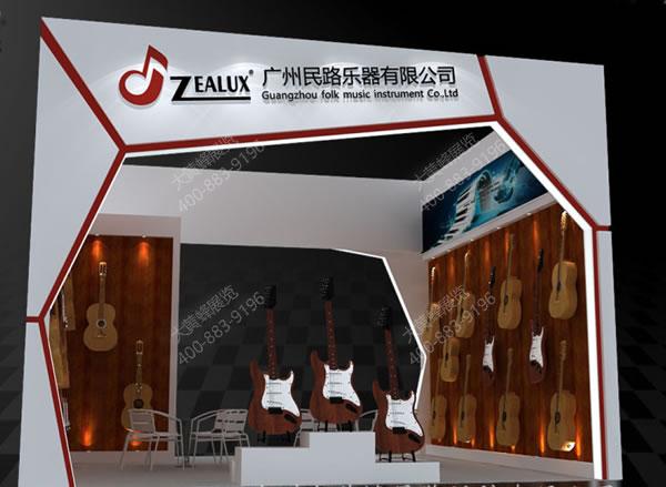 民路乐器-展览搭建