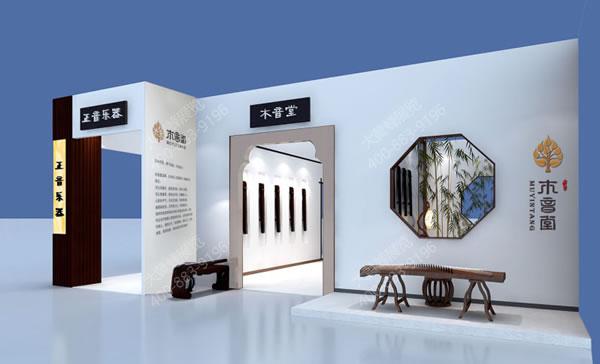 玲珑苑琴-展览设计