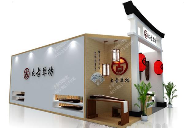太古琴坊-展台设计搭建