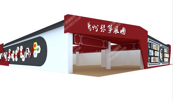 扬州太古琴坊-展厅设计