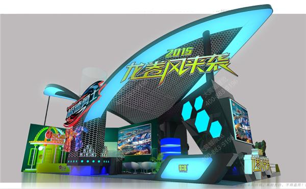 骅威科技-展台设计