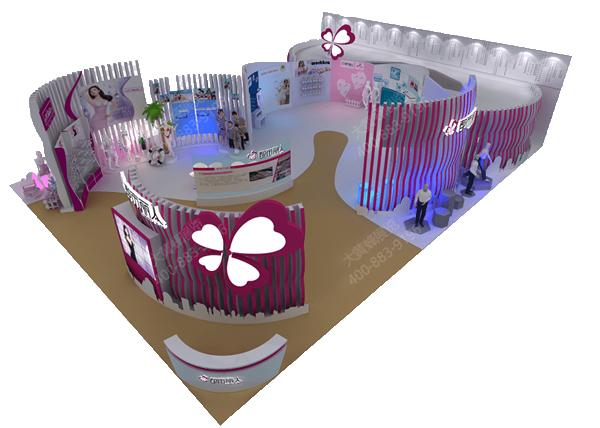 广东都市丽人-展厅设计