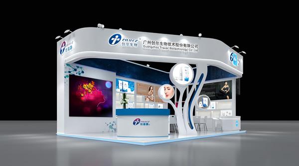 科技展厅设计_创尔生物