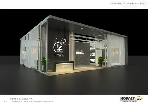 特装展台设计搭建-中升家具