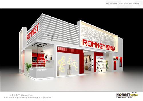 特装展台设计搭建-罗姆尼